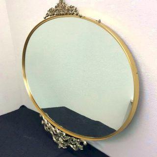 プリンセスミラー 豪華な鏡 ロココ調 《MS NKA》JM1425...