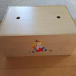美品 木製ボックス、テーブル
