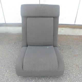 大きめ座椅子 ブラウン 中側は折り畳み式 JM745)【取りに来ら...