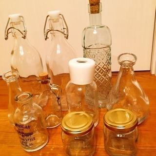 空瓶 DIY・ハンドメイドなどに