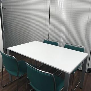 【激安中古】オフィステーブル 椅子4脚セット