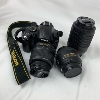 【仮確定】Nikon D5000ダブルレンズキット+単焦点