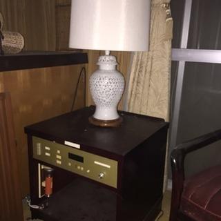 (あげます)ラジオ付ランプ
