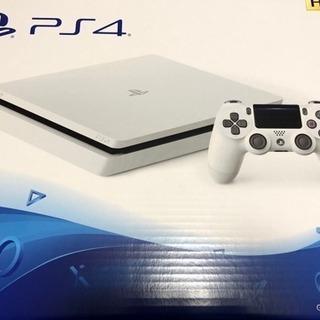 PS4 新品未開封 500GB グレイシャーホワイト
