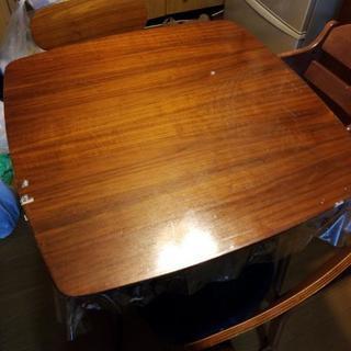 ダイニングテーブルセット 椅子2脚