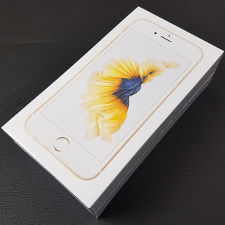 iPhone 6S 32GB 新品未開封 ゴールド 制限〇 SIMフリー docomoにてSIMロック解除の画像