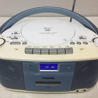 東芝★CDラジオカセットレコーダー...
