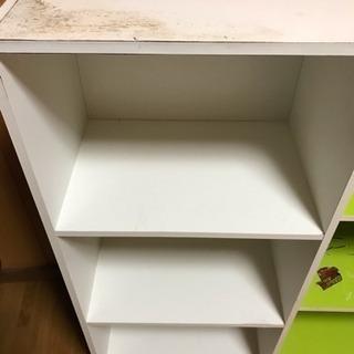 白 三段ボックス 2