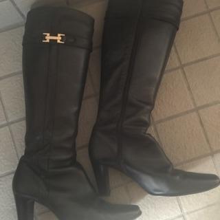 革ブーツ 24cm