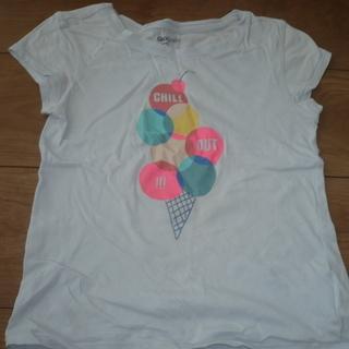 ギャップ GAP Tシャツ 水色 サイズ6−7 120 中古
