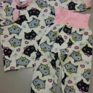 キッズ ネコちゃんパジャマ 95サイズ