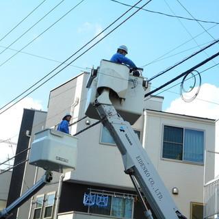 【急募】【板野郡】電気通信工事・電気工事作業員