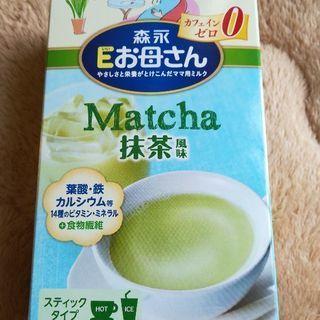 ☆開封済みです ☆森永Eお母さん☆ Matcha抹茶風味