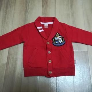アンパンマン 赤色 ジャケット 90サイズ