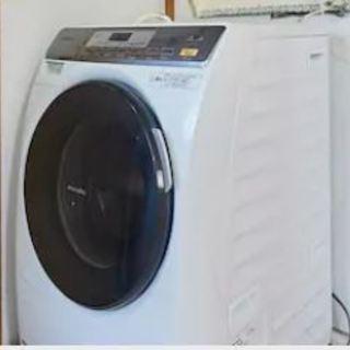 脱水機能が故障しているドラム式洗濯乾燥機