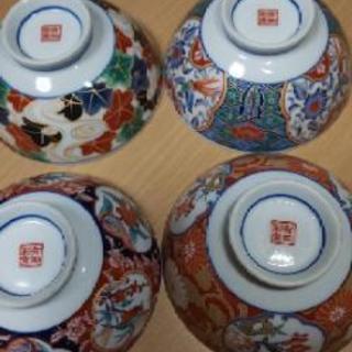 有田焼 有田彩窯 茶碗 ④個