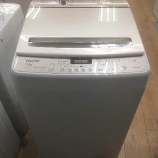 [安心の6ヶ月保証] 簡易乾燥機能付き洗濯機 ハイセンス 7.5k...