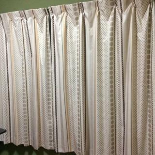 1級遮光 遮熱 丈150cmカーテン レースカーテン付