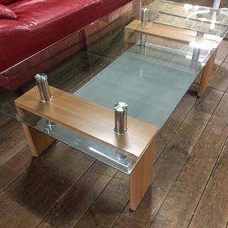 新品ガラスセンターテーブル!通常12800円を・・・●●●…