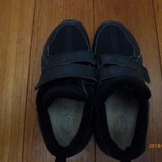 子供用黒靴 asics