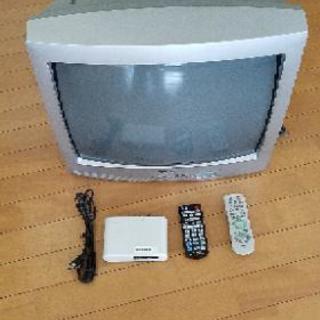 ブラウン管テレビ&地デジチューナー