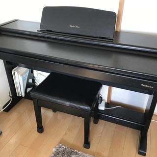 (只今交渉中です。)Technics電子ピアノ親戚から頂いたものです。
