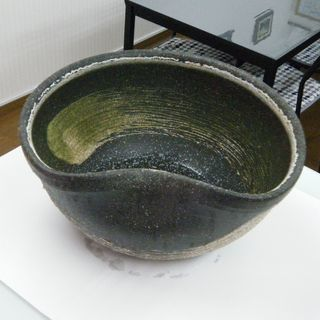 高級 信楽焼 睡蓮鉢(メダカ鉢)4千円