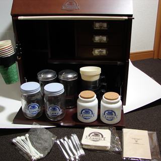 カフェ ミニ ラック コーヒー スタンド 食器棚 飾り棚 アスク...