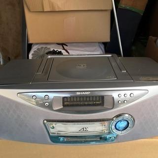 SHARP MD/CDシステム SD-FX10-S 2003年製