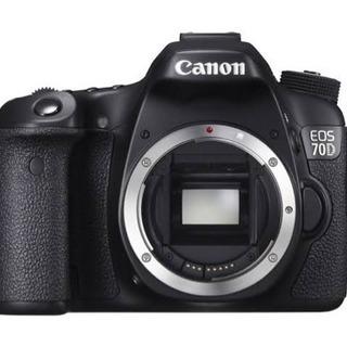 Canon EOS 70D ボディ/ 一眼レフ