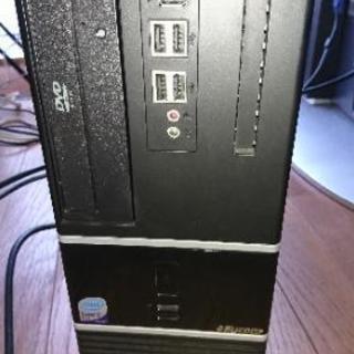 取引中。デスクトップパソコン コア2 HDMI搭載ジャンク