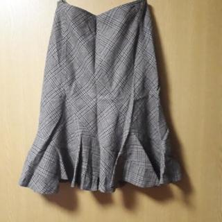 🔴ウエスト70cmチェック柄スカート