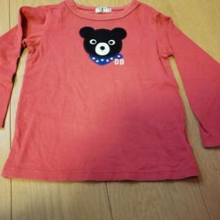 MIKI HOUSE DOUBLE B長袖Tシャツ100