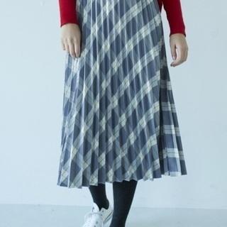 新品 プリーツスカート写真2枚目の色