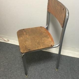 学校の椅子レトロアンティーク家具