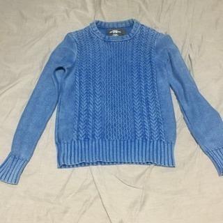 インディゴ風セーター
