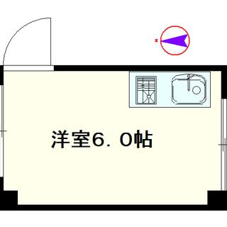 【ヴィラ松井独身マンション】E号タイプ!1Rタイプ!勉強部屋にも使...
