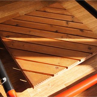 木製 キャリーボード 耐荷重 10㎏ 45cm x 45cm中古