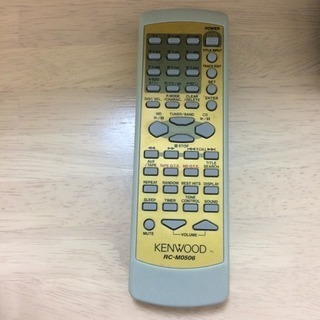 KENWOOD CD/MDコンポ 用リモコン RC-M0506 ...