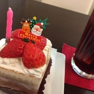 クリスマス・お正月の花飾りづくり(ケーキセット付き)