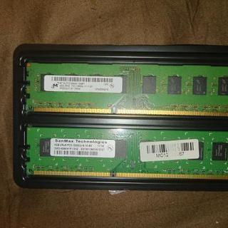 デスクトップパソコン用 メモリ DDR3 4GB×2枚