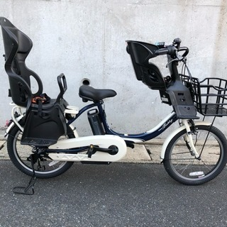 電動自転車 ヤマハ パスバビーアン 三人乗り