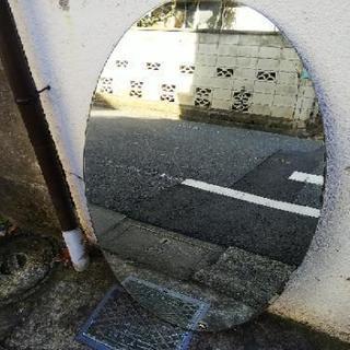 楕円形 鏡 ミラー