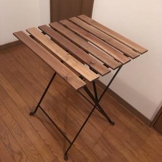 イケア  テーブル  アウトドア
