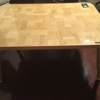折りたたみテーブル小