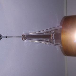 ランプシェード型(ガラス)ペンダントランプ(美品)お値下げしました