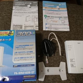 WiFiルータ NEC Aterm PA-WR8160N-ST
