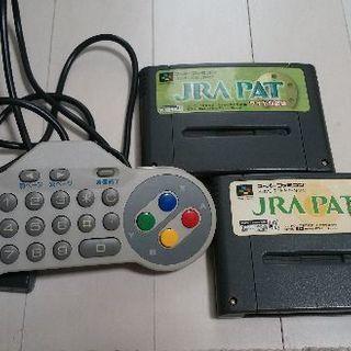 スーパーファミコンJRA競馬投票キーパッド(ソフトセット)