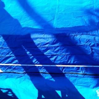 LOGOS ■ロゴス 寝袋シュラフ★青★190cm×843…