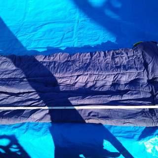 WENZEL ウエンゼル シュラフ 寝袋 青 185cm×…
